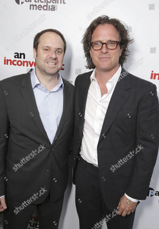 "Founder & Chairman - Participant Media and Exec. Producer Jeff Skoll and Exec. Producer/Director Davis Guggenheim seen at Participant Media 10 Year Anniversary Celebration of ""An Inconvenient Truth"", in Los Angeles, CA"