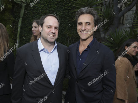 "Founder & Chairman - Participant Media and Exec. Producer Jeff Skoll and Producer Lawrence Bender seen at Participant Media 10 Year Anniversary Celebration of ""An Inconvenient Truth"", in Los Angeles, CA"