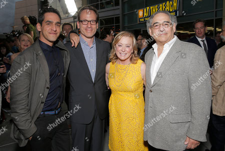 """Director and Co-Writer Zal Batmanglij, Producer Michael Costigan, President of Fox Searchlight Nancy Utley and President of Fox Searchlight Steve Gilula attend the LA premiere of Fox Searchlight Pictures' """"The East"""" presented by Piaget at the ArcLight Hollywood, in Los Angeles"""