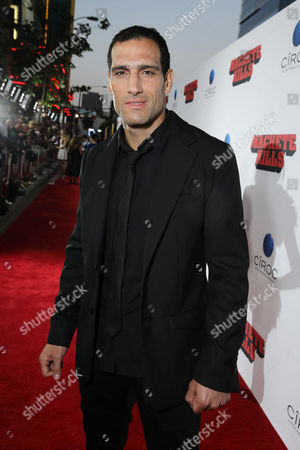 Marko Zaror seen at the Los Angeles Premiere of Open Road Films' 'Machete Kills' Powered by CIROC Vodka, on Wednesday, Oct, 2, 2013 in Los Angeles