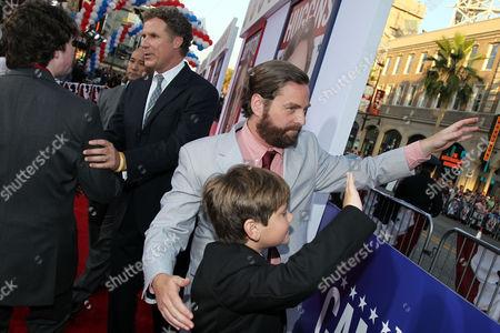 Editorial photo of Premiere The Campaign LA, Los Angeles, USA