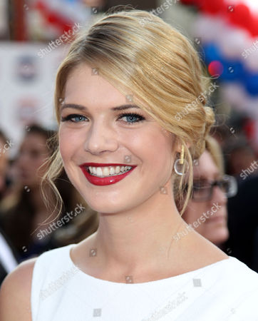 """Kate Lang Johnson attends the premiere for """"The Campaign"""" at Grauman's Chinese Theatre, in Los Angeles. """"The Campaign"""" opens in theaters Aug. 10, 2012"""