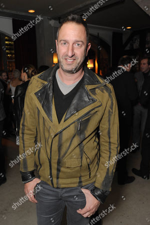 Stock Image of Christos Garkinos attends the Pret-A-Reporter at the Ace Hotel presented by Samsung Galaxy, on in Los Angeles