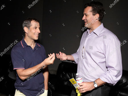 Barry Mendel and Scott Stuber attend the Produced By Conference Day 2 on in Culver City, Calif