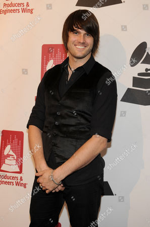Stock Photo of Derek Olds arrives at the Producers and Engineers of The Academy's 7th Annual Grammy Week Event, at The Village Recording Studios, on in West Los Angeles, Calif