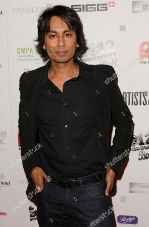Vik Sahay attends the Producers Ball 2012 at the Shangri-La Toronto, in Toronto, Canada