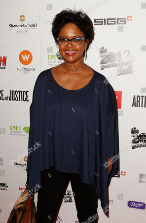 Tonya Lee Williams attends the Producers Ball 2012 at the Shangri-La Toronto, in Toronto, Canada