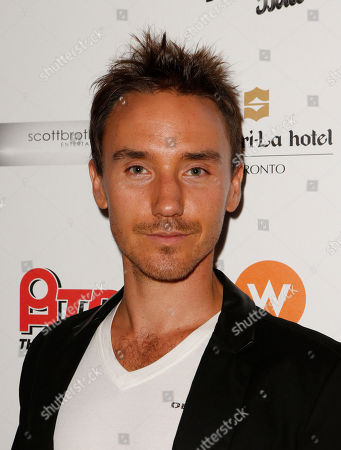 Rob Stewart attends the Producers Ball 2012 at the Shangri-La Toronto, in Toronto, Canada