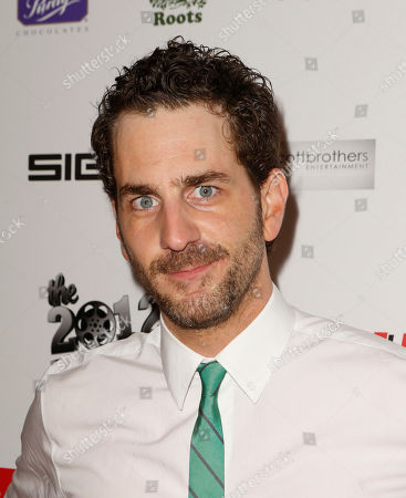 Aaron Abrams attends the Producers Ball 2012 at the Shangri-La Toronto, in Toronto, Canada