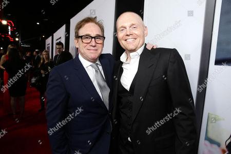 "Director/Writer Mike Binder and Bill Burr seen at Relativity Studios Los Angeles Premiere of ""Black or White"" held at Regal Cinemas, in Los Angeles"