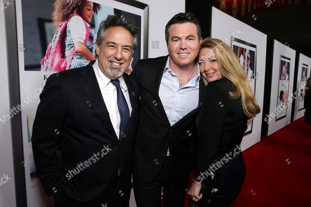 "Rod Lake, Tucker Tooley, President of Relativity Media and Tessa Tooley seen at Relativity Studios Los Angeles Premiere of ""Black or White"" held at Regal Cinemas, in Los Angeles"