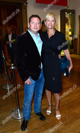 Matthew Freud and Elizabeth Murdoch arrives at the Royal Academy of Art: Summer Exhibition Preview Party in London on