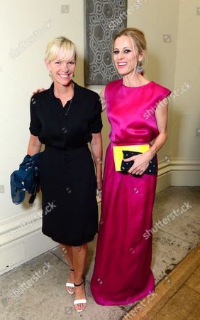 Elizabeth Murdoch and Laura Bailey arrive at the Royal Academy of Art: Summer Exhibition Preview Party in London on