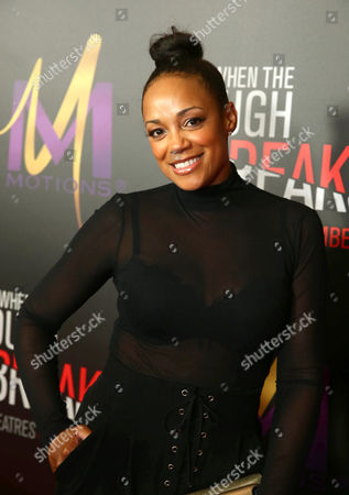 "Editorial image of Screen Gems Premiere of ""When the Bough Breaks"", Los Angeles, USA"
