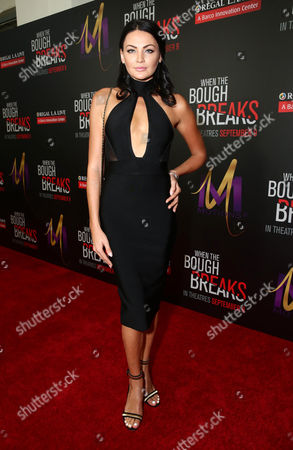 "Editorial photo of Screen Gems Premiere of ""When the Bough Breaks"", Los Angeles, USA"