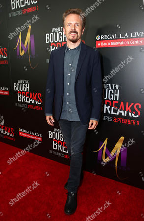 """Stock Image of John Frizzell attends the Screen Gems premiere of """"When the Bough Breaks"""" at Regal Cinemas L.A. Live, in Los Angeles"""