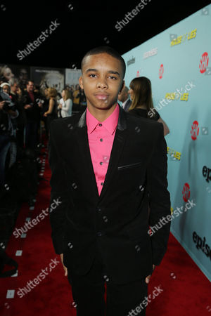 "Donis Leonard Jr. seen at the premiere event for Showtime's Original Comedy Series ""Shameless, House of Lies and Episodes"" at Cecconi's, in West Hollywood"