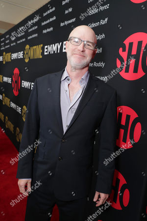 """David Hollander, Executive Producer for """"Ray Donovan"""", seen at Showtime's Emmy Eve at the Sunset Tower, in Los Angeles"""