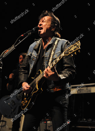 Lee Ving of Fear performs with Sound City Players at the Hollywood Palladium on in Los Angeles