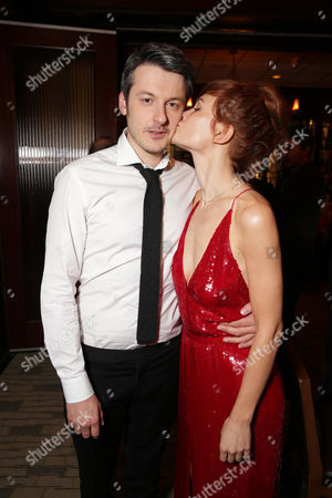 Director/Writer/Producer/Actor Ilya Naishuller and Composer/Actor Darya Charusha seen at STX Entertainment â?˜Hardcore Henry' reception at 2016 SXSW Film Festival, in Austin, TX