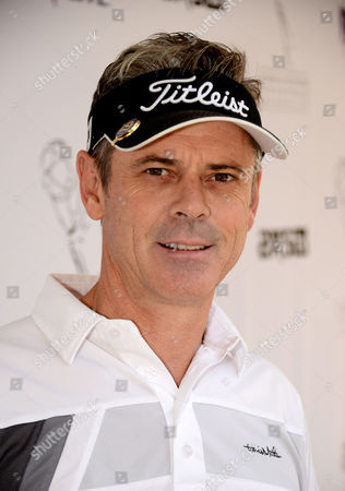 Stock Picture of C. Thomas Howell arrives at the Academy of Television Arts & Sciences 14th Primetime Emmy Celebrity Tee-Off, on Monday, September, 9, 2013 at Oakmont Country Club in Glendale, CA