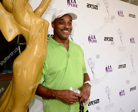 Rocky Carroll arrives at the Academy of Television Arts & Sciences 14th Primetime Emmy Celebrity Tee-Off, on Monday, September, 9, 2013 at Oakmont Country Club in Glendale, CA