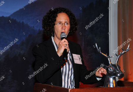 Liz Friedman speaks at the Television Academy's 66th Emmy Awards Writers Nominee Reception on at the Television Academy in the NoHo Arts District of Los Angeles