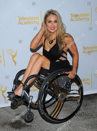 Tiphany Adams arrives at the Television Academy's 66th Emmy Awards Writers Nominee Reception on at the Television Academy in the NoHo Arts District of Los Angeles