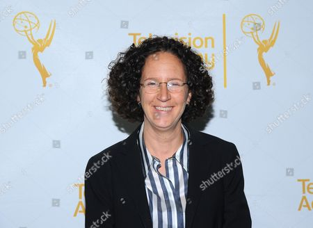Liz Friedman arrives at the Television Academy's 66th Emmy Awards Writers Nominee Reception on at the Television Academy in the NoHo Arts District of Los Angeles
