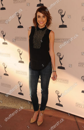 Shira Lazar attends the Academy of Television Arts & Sciences Interactive Media Peer Groups Celebration for the Interactive Media Nominees,, at the Leonard H. Goldenson Theatre in North Hollywood, Calif
