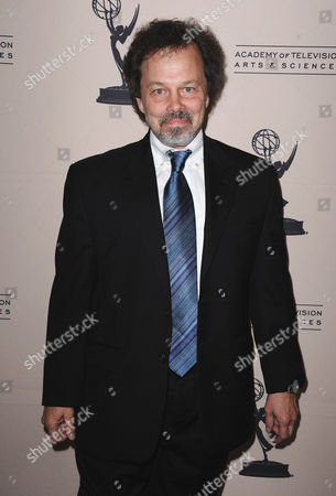 Curtis Armstrong arrives at the 40th Annual Daytime Emmy Awards nominee reception at the Montage Beverly Hills on in Beverly Hills, Calif