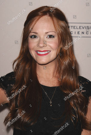 Emily Wilson arrives at the 40th Annual Daytime Emmy Awards nominee reception at the Montage Beverly Hills on in Beverly Hills, Calif