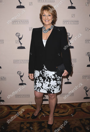 Cristina Ferrare arrives at the 40th Annual Daytime Emmy Awards nominee reception at the Montage Beverly Hills on in Beverly Hills, Calif