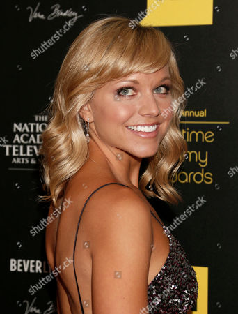 Tiffany Coyne arrives at the 39th Annual Daytime Emmy Awards on HLN at the Beverly Hilton Hotel on in Beverly Hills, Calif
