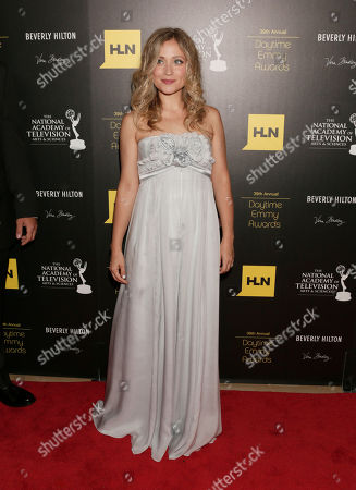 Marcy Rylan arrives at the 39th Annual Daytime Emmy Awards on HLN at the Beverly Hilton Hotel on in Beverly Hills, Calif