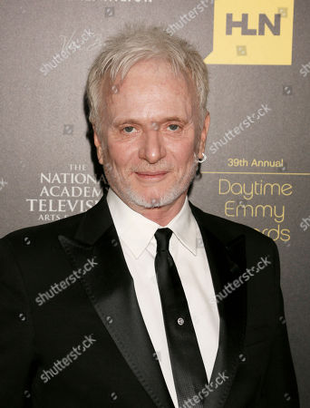 Anthony Geary arrives at the 39th Annual Daytime Emmy Awards on HLN at the Beverly Hilton Hotel on in Beverly Hills, Calif