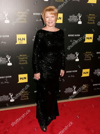 Erika Slezak arrives at the 39th Annual Daytime Emmy Awards on HLN at the Beverly Hilton Hotel on in Beverly Hills, Calif