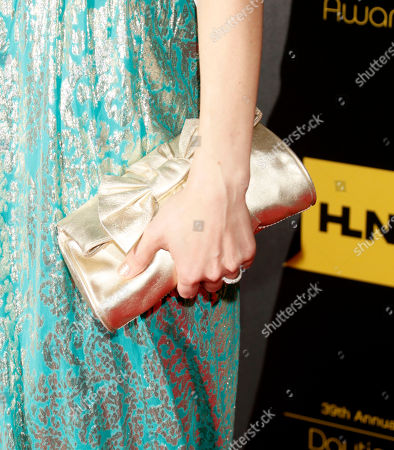 Stock Picture of Rebecca Herbst arrives at the 39th Annual Daytime Emmy Awards on HLN at the Beverly Hilton Hotel on in Beverly Hills, Calif