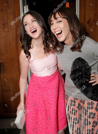 Micaela Erlanger, left and Merle Ginsberg attend The Hollywood Reporter & Jimmy Choo Celebration of the Most Powerful Stylists in Hollywood,, in West Hollywood, Calif