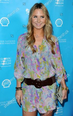 Stock Picture of Vanessa Lee Evigan arrives at the launch of the mPowering Action platform at The Conga Room at L.A. LIVE on in Los Angeles