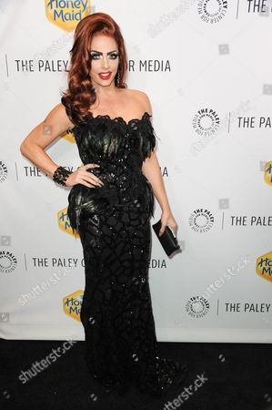 Alyssa Edwards arrives at The Paley Center For Media Los Angeles Benefit Gala, in Los Angeles