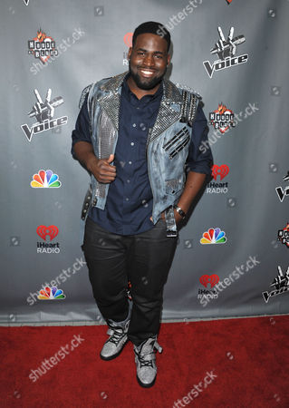 "Trevin Hunte attends a red carpet event for ""The Voice"" Season 3 in Los Angeles on"