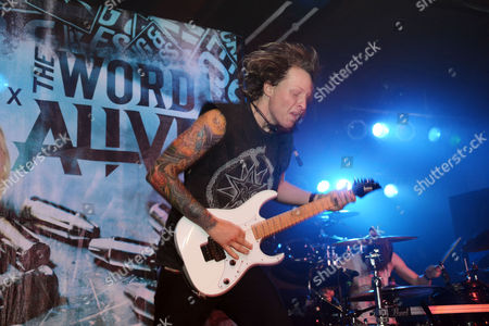 Zack Hansen of The Word Alive performs, at The Masquerade, in Atlanta