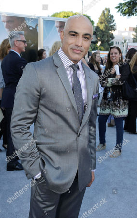 Faran Tahir seen at The World Premiere of TriStar Pictures 'Elysium', on Wednesday, August, 7, 2013 in Westwood, Calif
