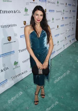 Shiva Rose arrives at the Third annual Baby2Baby Gala honoring Kate Hudson at The Book Bindery, in Culver City, Calif