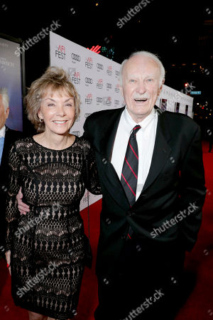 """Dabney Coleman and guest seen at Twentieth Century Fox's """"Rules Don't Apply"""" World Premiere Gala Opening Night Gala Screening at AFI FEST 2016, in Los Angeles"""