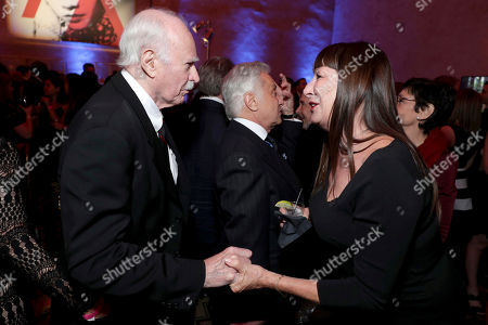 """Dabney Coleman and Anjelica Huston seen at Twentieth Century Fox's """"Rules Don't Apply"""" World Premiere Gala Opening Night Gala Screening after party at AFI FEST 2016, in Los Angeles"""