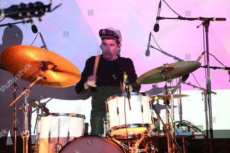 Stock Photo of Scott Hansen Tycho performs at Chastain Park Amphitheatre, in Atlanta