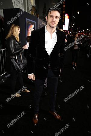 """Dragos Savulescu seen at Warner Bros' Los Angeles Premiere of """"Jupiter Ascending"""", in Los Angeles"""