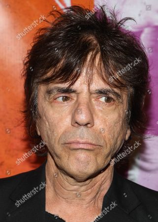 """Stock Image of Musician Frank Infante arrives at the west coast special screening of """"CBGB"""" at ArcLight Hollywood on in Los Angeles"""